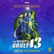 Doctor Who The Secret In Vault 13 By Solomons, David Book The Fast Free