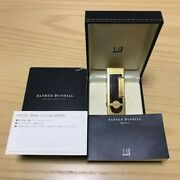 Pricecut Dunhill Gold And Woodgrain Roller Gas Lighterignition Confirmedwith Box