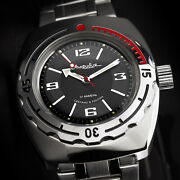 Vostok Automatic Kal. 2415/090510 Russian Analog Diver Watch