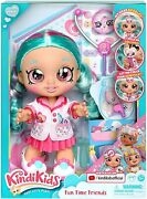 New Kindi Kids Fun Time Friends - 10 Inch Doll - Dr Cindy Pops - New For 2020