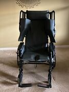 Black Broda Wheelchair In Perfect Condition