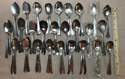 48 Antique Vintage Silverplate Sugar Spoons Shells Jelly Servers Craft And Better