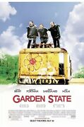 Garden State Ds Dual Double Sided Movie Poster Authentic 27 X 40 Natalie Portman