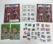 1984 Us Summer Olympics Official Album Stamp Collecting Kit Us Postal Service
