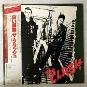 Rare Jap Board The First Press The Clash The First Time White Belt.