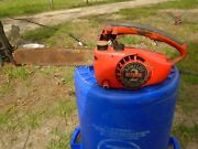 Vintage Homelite Super 2 12 Chainsaw Chain Saw For Parts