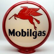 Mobilgas 13.5 Gas Pump Globe - Ships Fully Assembled Ready For Your Pump