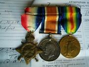 Ww1 Medal Trio Corp Spencer 12th South African Infantry Late Kitchener's Horse