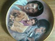 7 Collector Plates Of Elvis Presley That Are Has Certificationof Authenity