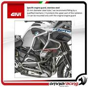 Givi Specific Stainless Steel Engine Guard For Bmw R 1200 Gs Adventure 14 16