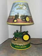 John Deere Tractor Lamp Animated With Real Motor Sound Lamp Does Not Work Parts