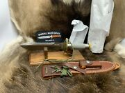 Randall 18 Model Survival Knife With Stainless Handles And Sheath Mint In Paper+a1