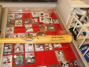 Mickey Mantle Signed Louisville Slugger Game Model Bat Psa/dna Nice Solid Auto