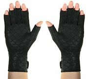 Arthritis Hand Gloves Fingers Pain Reliever Warming Compression Heat Therapy