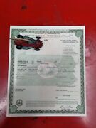 1925 Ford Model T Coupe Paperwork Document