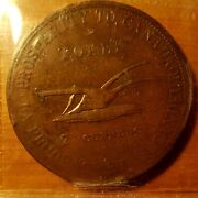Leslie And Sons Uc 2 Penny Token 1822 Ch Uc-3 Bre 717