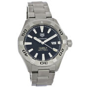 Tag Heuer Aquaracer Mens Black Dial Swiss Automatic Watch Way2010.ba0927