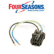 Four Seasons Blower Motor Pigtail Harness Connector For 1991 Ford E-150 Do