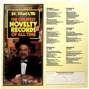 Dr. Demento Autographed Record Insert No Records Included