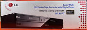 New Lg Rc897t Multi Format 1080p Hdmi Dvd Recorder Player Vcr Combo With Tuner