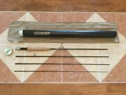 Sage Z-axis 486-4 8ft 6in 4wt Fly Fishing Rod W/tube/sock For 4wt Line Reel