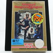 Advanced Dungeons And Dragons - Pools Of Darkness | Factory Sealed New | Ibm Pc