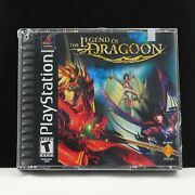 The Legend Of Dragoon   Factory Sealed, New Promotional Unit   Playstation 1 Ps1