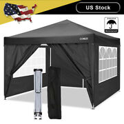Cobizi Canopy 10and039x10and039 Pop Up Commercial Instant Gazebo Tent Outdoor Party Canopy