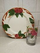Franciscan China Apple Pattern 2 Piece Batch 9 1/4 Plate And 6 1/4 Tumbler