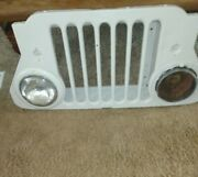 Antique Jeep Grill
