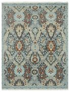9x12 Modern Agra Hand-knotted Wool Area Rug Contemporary Carpet