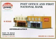 Post Office And Bank Building Kit 'n' Scale Model Power New 1539