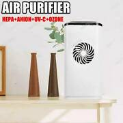Air Purifier Cleaner Filter Led Sanitize Carbon Hepa+anion+uv-c+ozone