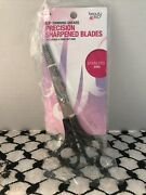 Beauty 360 Thinning Shears 6.5 Percision Stainless Steel Sharpened Blades Nip