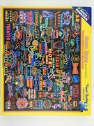 White Mountain Jigsaw Puzzles Neon Signs 1000 Piece Puzzle Made In Usa
