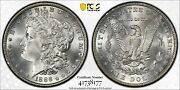 1886 1 Morgan Dollar Certified Pcgs Ms67 Us Mint Silver Coin