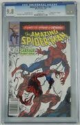 Amazing Spider-man 361 Cgc 9.8 - 1st Full Carnage White Pages Newsstand Variant
