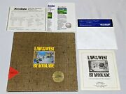 Law Of The West By Accolade Alan Miller - Apple Ii Computer Game - Very Rare