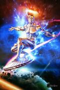 Silver Surfer-poster Movie- Poster Action-poster Print