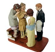 Norman Rockwell Figurine Danbury Mint 12 Sculpture First Date Home Late Family