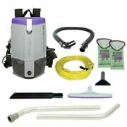 Proteam 107308 Super Coach Pro 6 Hepa Backpack Vacuum And Bags
