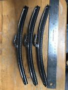 3 Nos Jaguar Etype Sie 3.8 Early 1961 11andrdquo Trico Wiper Blades Xke Made In England