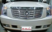 2007-2014 Brand New Cadillac Escalade Classic Sixteen Grille Upper Grille Cap