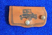 Leather Ford Key Case Key Chain Ford Motor Company Accessory Tipton Mo Key Ring