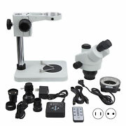 7x-45x Inspection Dissecting Zoom Power Stereo Industry Soldering Microscope