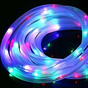 Solar Christmas Decorations Lights Outdoorcolorful Rope Fairy String