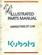Kubota M6950 And M7950 Dt Cab Tractor Parts Manual