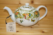 Celina Chile Ritz Carlton Hotel Chile Teapot 4 1/8 With Lid