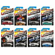 Hot Wheels Fast And Furious Complete Set Set Of 8 164 Diecast Collection