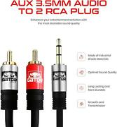 Gator Cable Aux To Rca 15ft